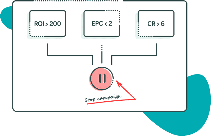 Create rules on RedTrack