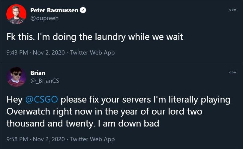 Valve did take its time fixing the servers