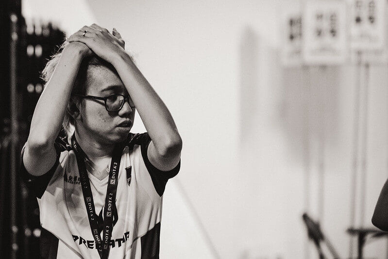 TNC Kuku in sadness after elimination at TI9