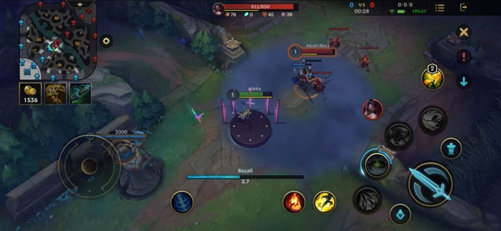 Wild Rift: A Bug Allowing Akali to Stay Invisible While Doing Recall