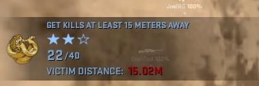 Player does not register a kill with 15.02 meters