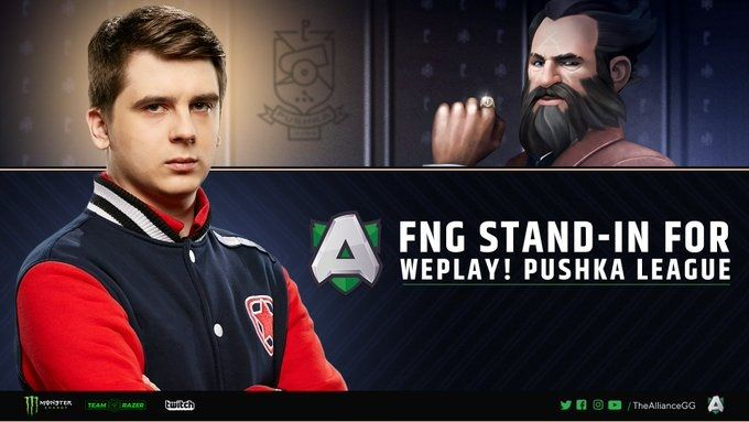Fng Stand in For Alliance