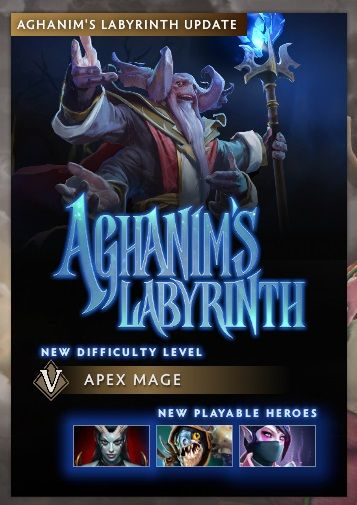 Aghanim's Labyrinth New Heroes