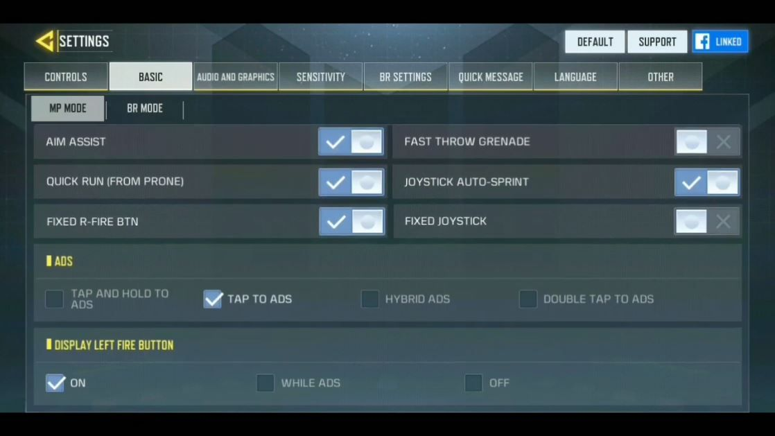 Best Sensitivity Settings for COD Mobile