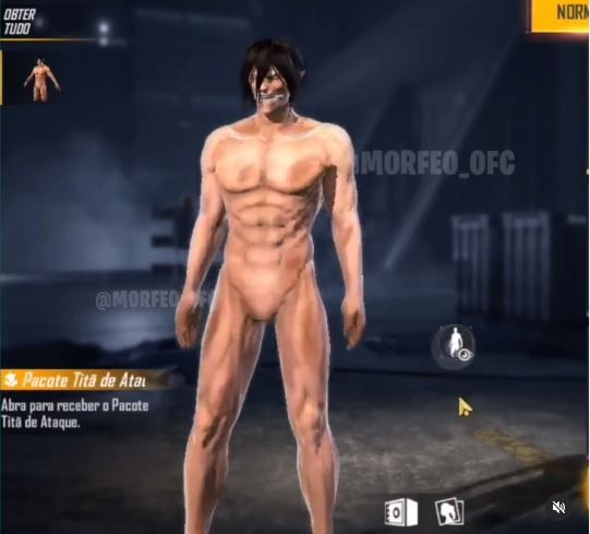 The Attack Titan is an upcoming obtainable costume in Free Fire