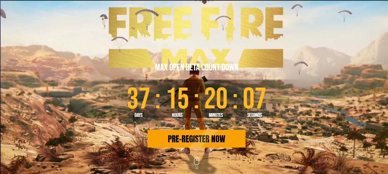 Free Fire Max: Pre-Register For the Game in the MENA Region