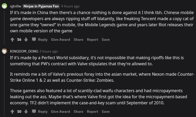 Users sharing their theories about Global Offensive Mobile