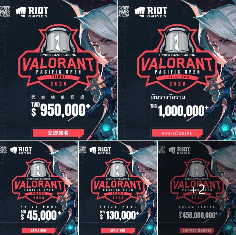 Each regional qualifier will have an additional separate prize pool