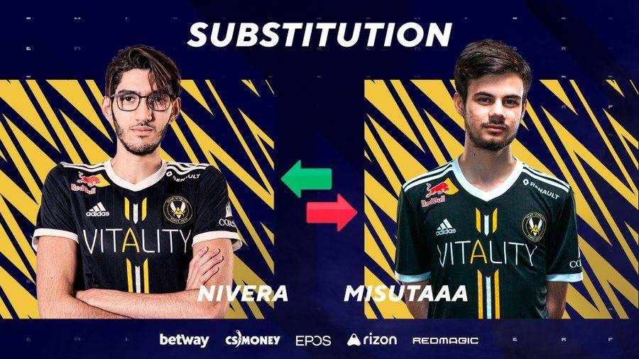 First official mid-match substitution in CS:GO history