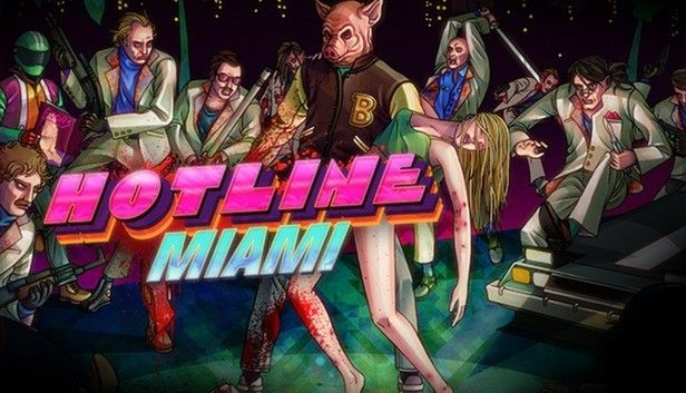 Hotline Miami - The game on which the CS:GO Music Kit is based