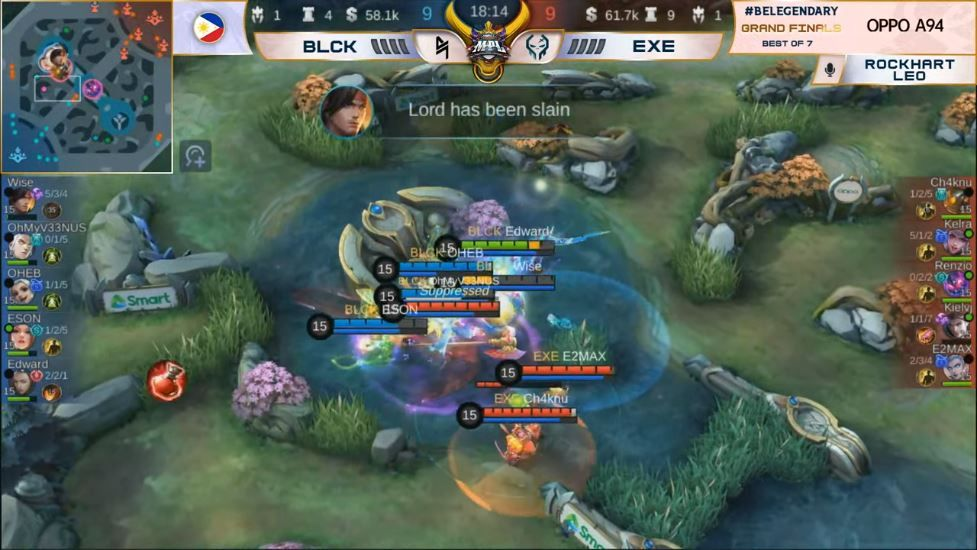 Blacklist International Took the Championship Crown Against Execration in the MPL PH Season 7 Grand Finals
