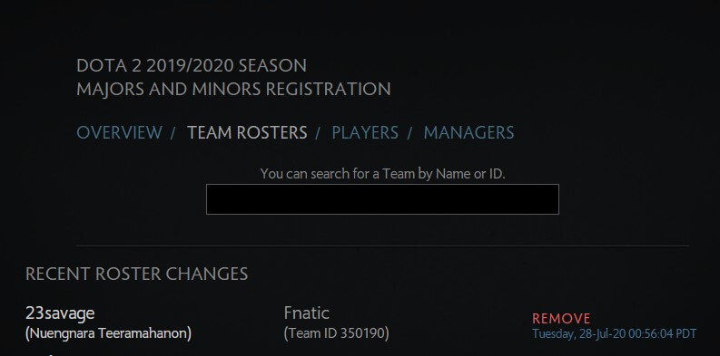 23Savage Removed From Fnatic Roster