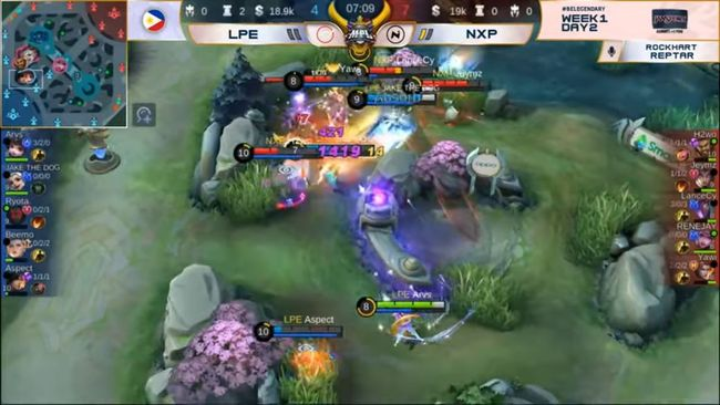 Laus Playbook Esports Outlasts Nexplay Esports in the MPL PH Season 7