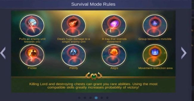 Here are the perks you can get in Survival Mode: Nexus in Mobile Legends.