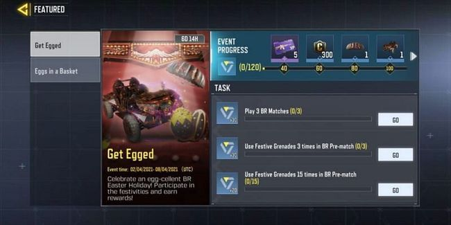 COD Mobile Get Egged Event: How to Complete?