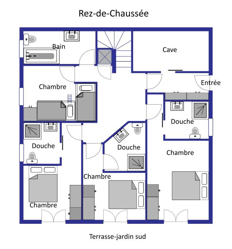 Chalet Levron layout