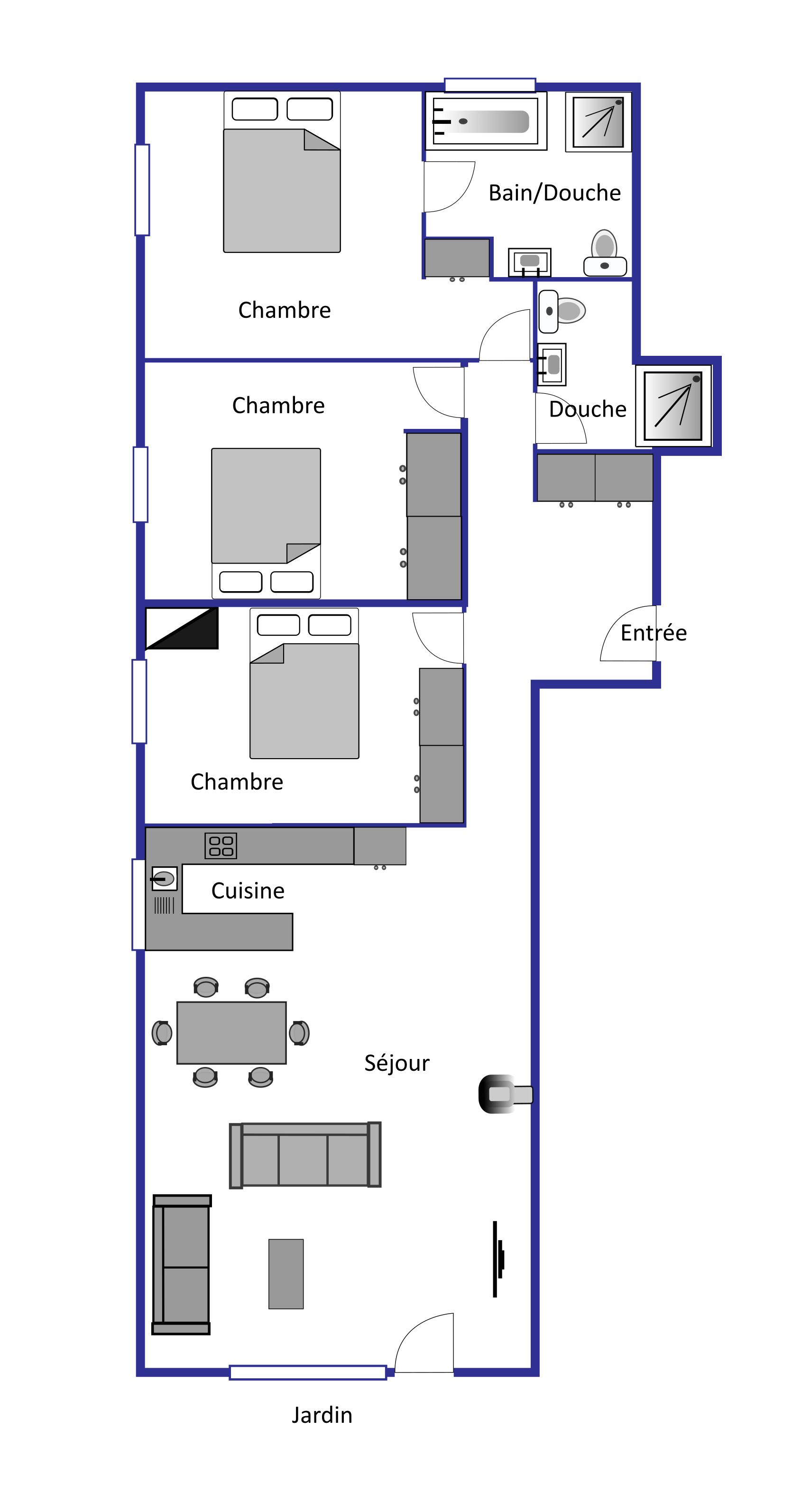 Volga  layout