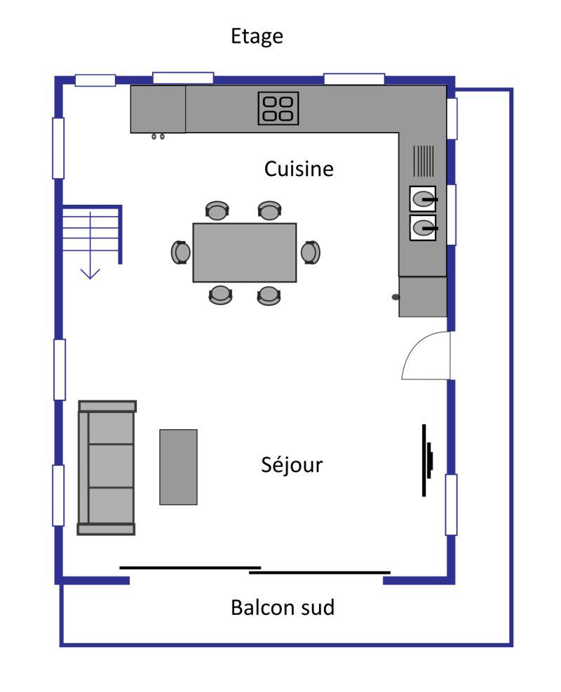 Chalet Fontenelle layout