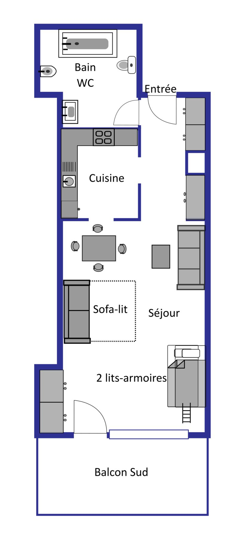 Mondzeu B240 layout