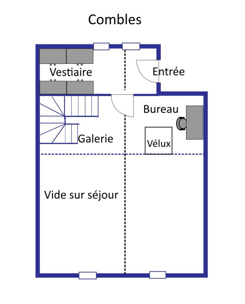 Chalet Varouet layout