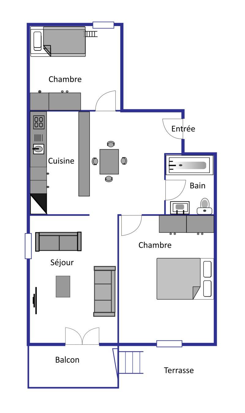 Lichen layout