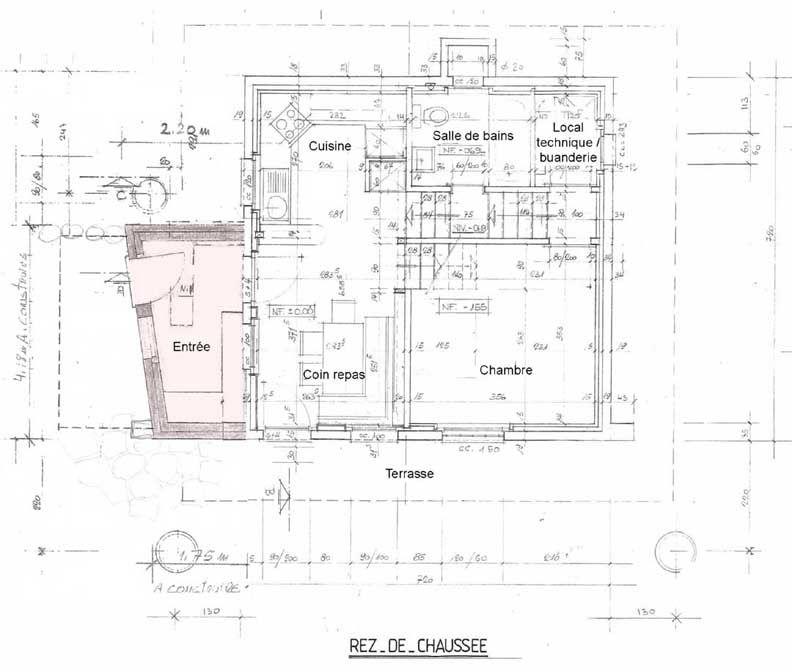 Chalet Manang  layout