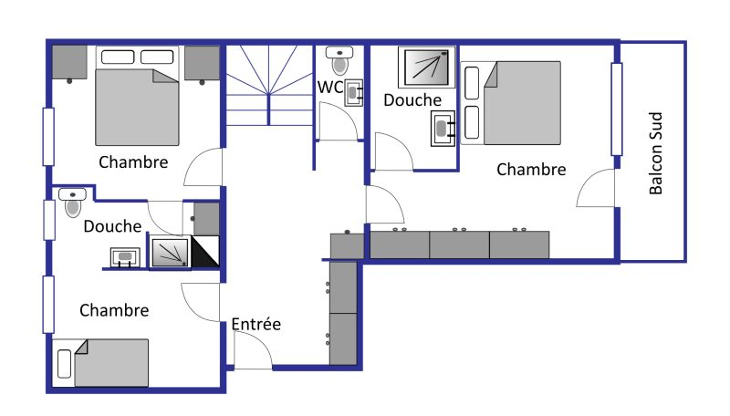 Bruyeres B43 layout