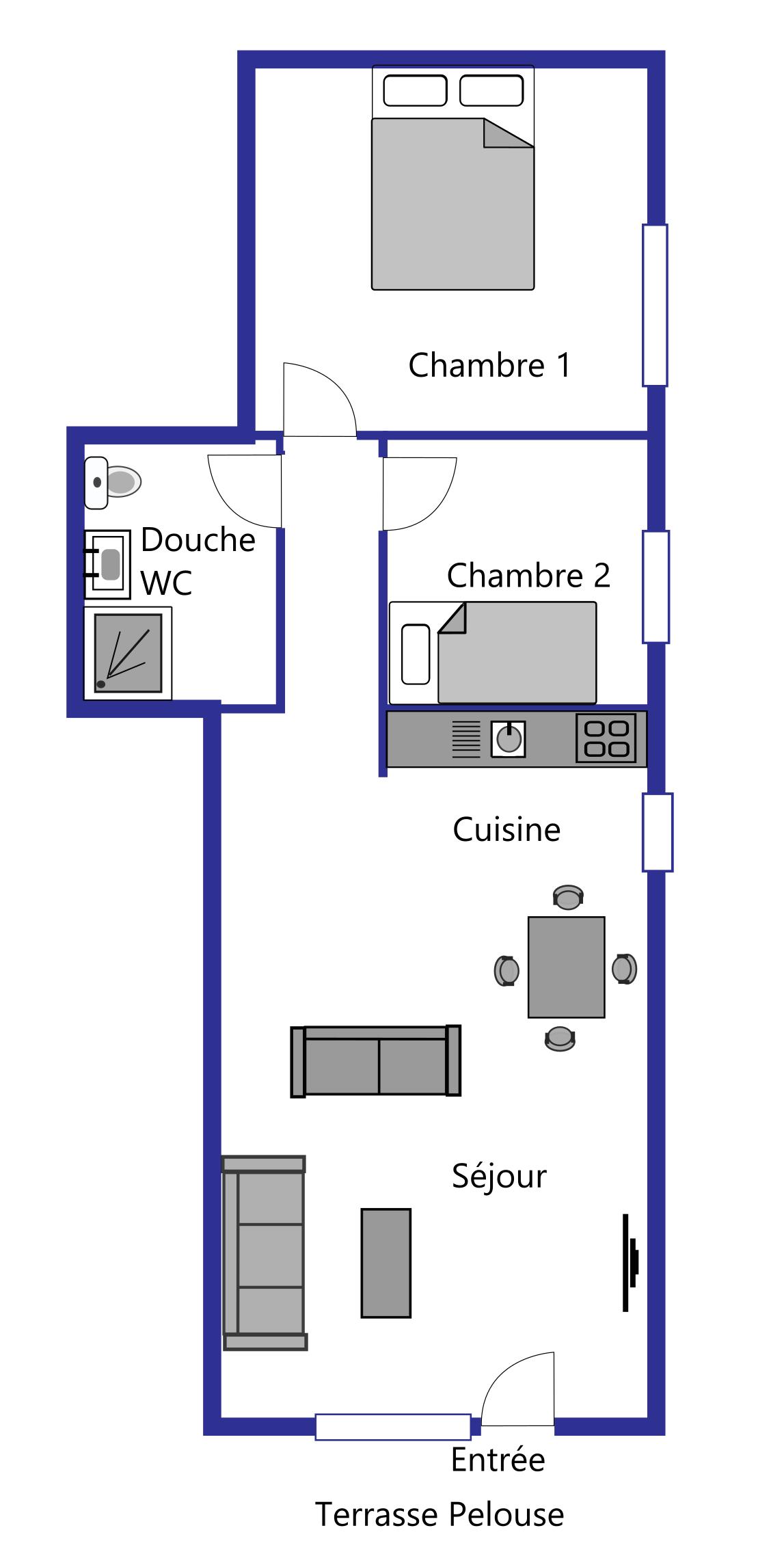 Athenée layout