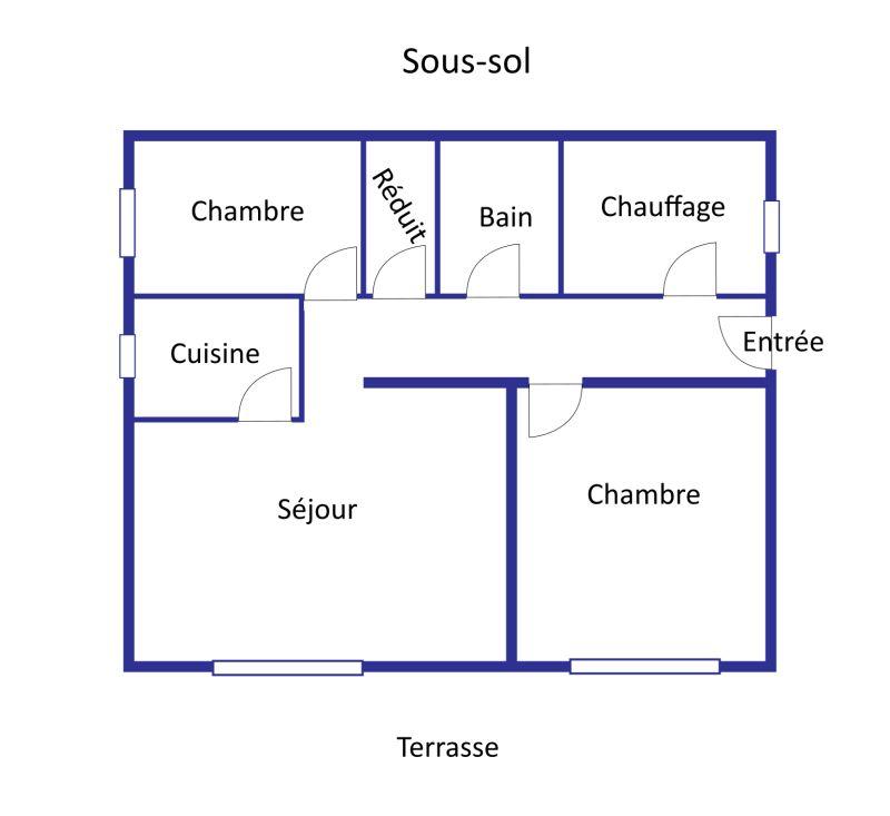 Mas des Colonnes layout