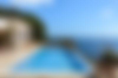 Can Myriam Villa a Cala San Vicente, Ibiza, in Spagna  con piscina privata per 8 persone...