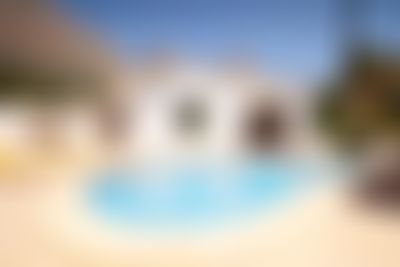 POPUL Large and comfortable villa  with private pool in Javea, on the Costa Blanca, Spain for 8 persons...