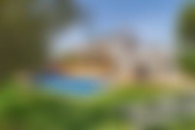 Mandarin Villa grande y acogedora  con piscina privada en Javea, en la Costa Blanca, España para 8 personas...