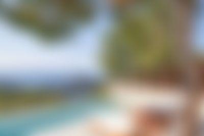 Minta Villa in Cala Salada, Ibiza, Spain  with private pool for 8 persons...