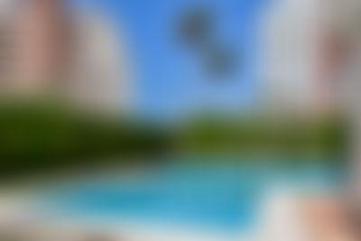 Apartamento Las Garzas 3A Appartement  met gemeenschappelijk zwembad in Calpe, aan de Costa Blanca, Spanje voor 4 personen...