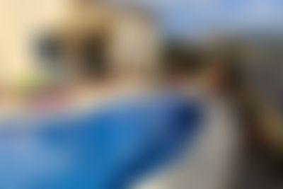 Libelle Villa graciosa  con piscina privada en Alfaz Del Pi, en la Costa Blanca, España para 6 personas...