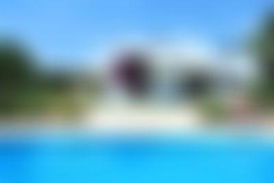 Cara Basso Villa moderna e accogliente  con piscina privata a Santa Gertrudis, Ibiza, in Spagna per 8 persone...
