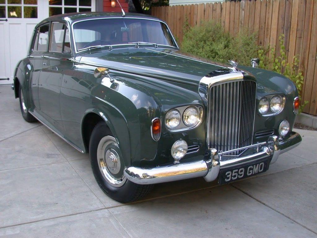 Beautiful 1963 Bentley S3 Series