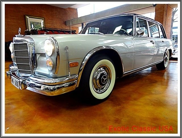 1969 Mercedes Benz 600 Series SWB 600