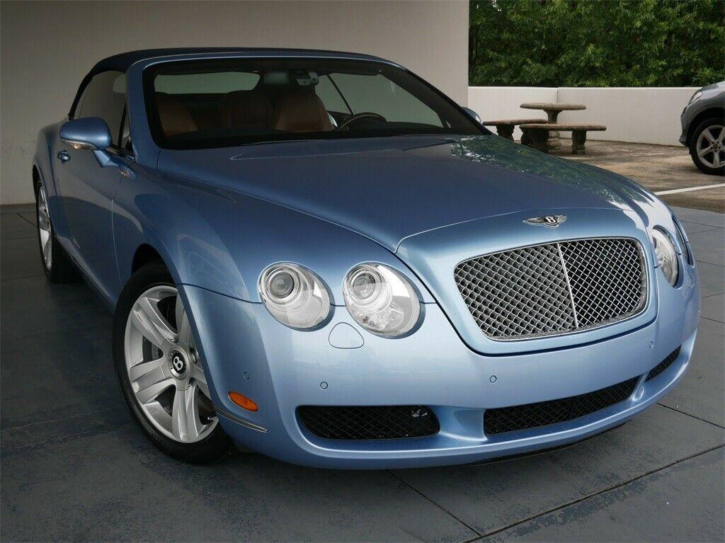2007 Bentley Continental GTC, Silver Lake