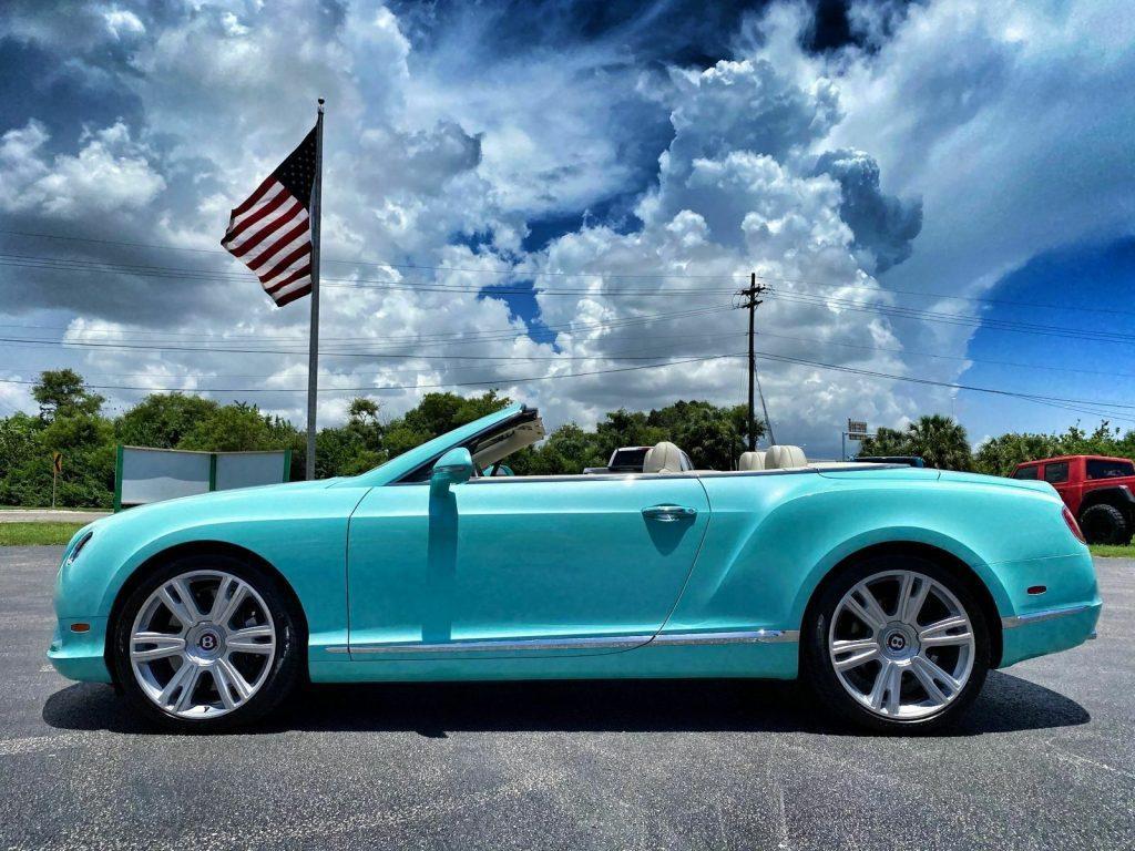 2014 Bentley Continental GT GTC Aquamarine