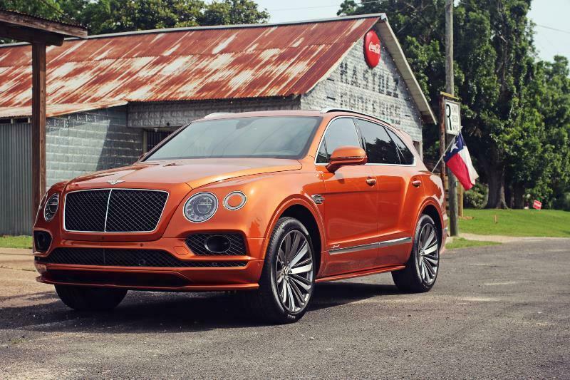 2020 Bentley Bentayga Speed Factory Show Car