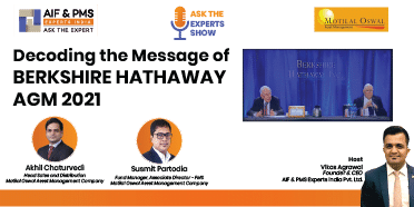 Decoding the Message of BERKSHIRE HATHAWAY AGM 2021