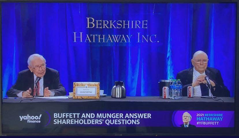 Berkshire Hathaway's AGM - 2021 - Aif & Pms Experts India