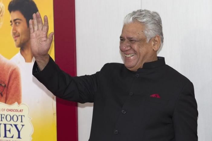 Actor Om Puri arrives for the world premiere of the film 'The Hundred-Foot Journey' in the Manhattan borough of New York August 4, 2014. REUTERS/Carlo Allegri/Files