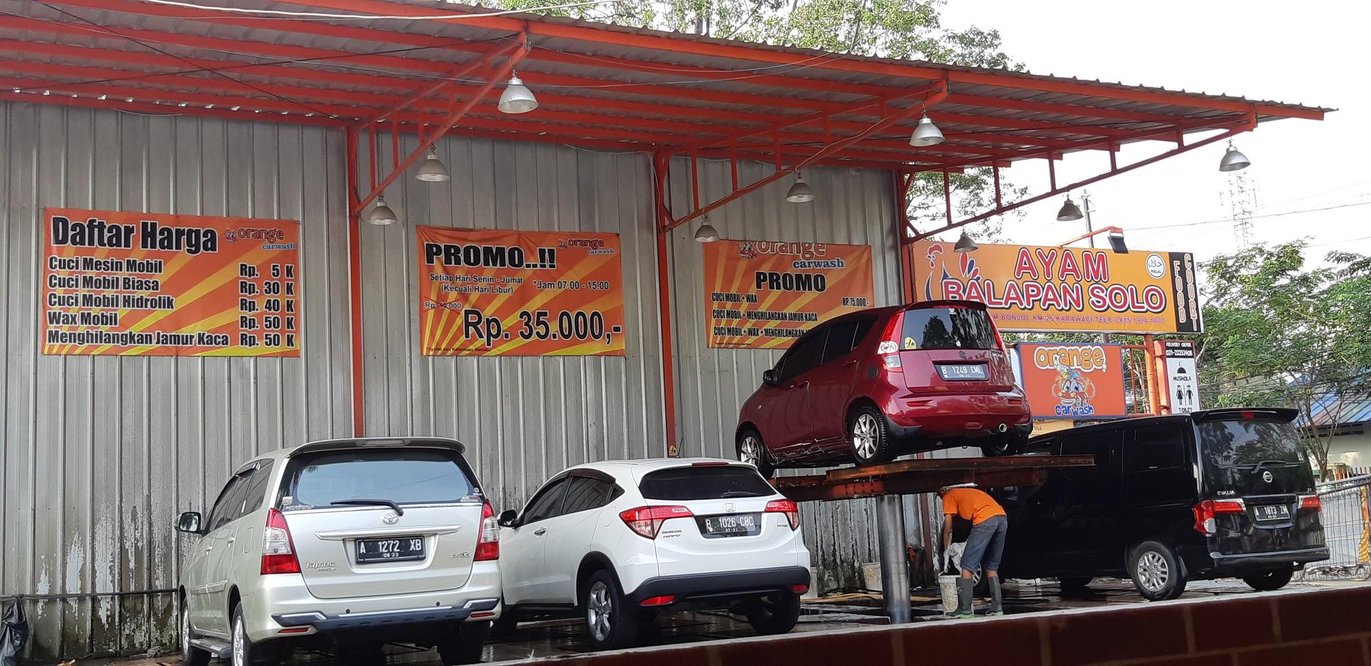 Orange Car Wash Karawaci Alamat Com