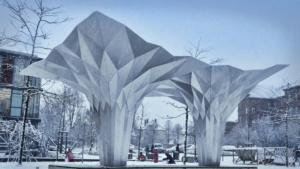 aluminium coil aluminium sculpture aluminum coil aluminum sculpture