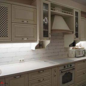 pryamaya kuhnya iz massiva 9 17 v klassicheskom stile foto 1 286x286 - Кухня №9-017 фото и цены