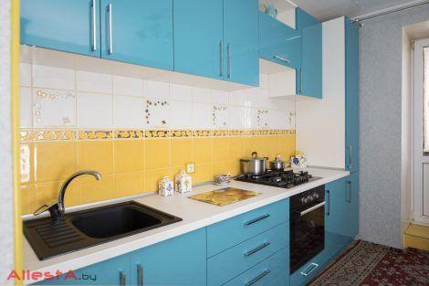 sovremennaya pryamolinejnaya sinyaya kuhnya 2 038 foto 14 470x313 - Кухня №02-038 фото и цены