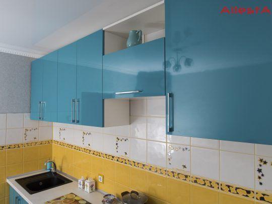 sovremennaya pryamolinejnaya sinyaya kuhnya 2 038 foto 2 540x405 - Кухня №02-038 фото и цены