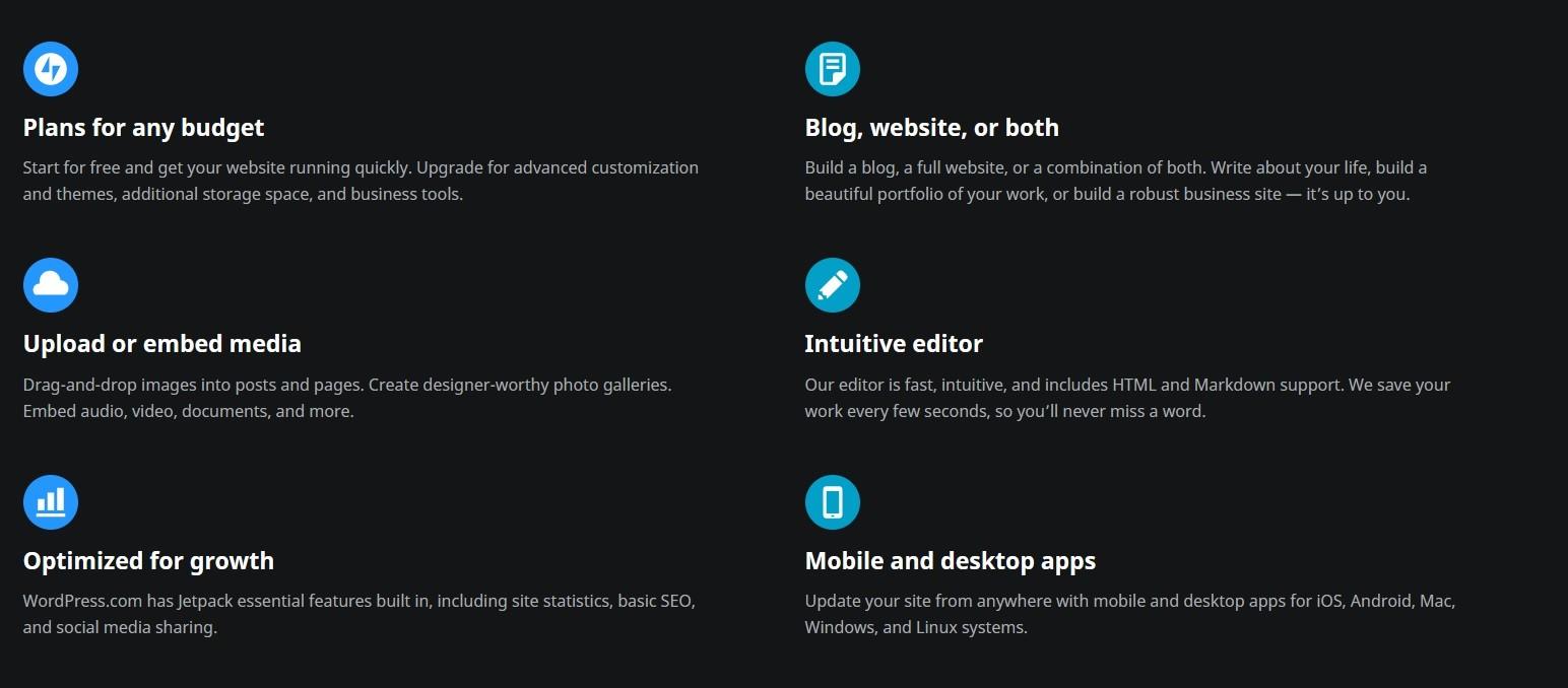 Wordpress benefits